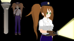 [Blender to MMD][Newcomer] The Flashlight  DL  by kilala1148