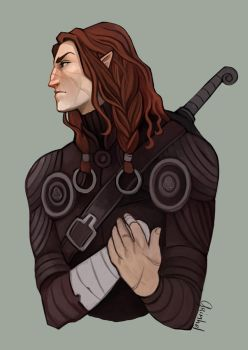 The Silmarillion - Maedhros by Grimhel