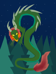 Chinese Dragon by NeonVioletOwl