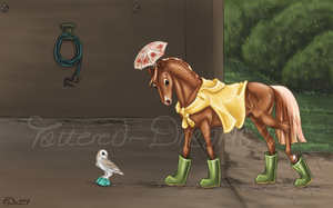 Boots and Brolleys by Tattered-Dreams