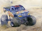 Monster Truck by GreeGW