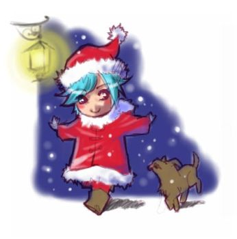 Happy Christmas....Eve by kitten-chan