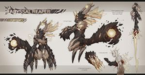 [CLOSED] Fuwachii Auction - Abyssal Reaper by Snouken