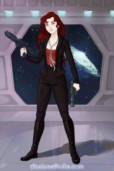 Candy Marino (Star Trek: Deep Space Nine OC) by suburbantimewaster