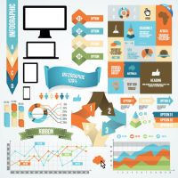 Infographic and diagram design elements by DarkStaLkeRR