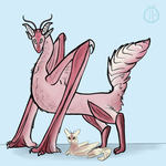 Orchid Mantis Dragon by Beetlebelle