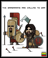 The Barbarians are calling us by The-Titan