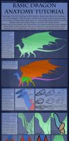 Tutorial - Basic Dragon Anatomy 2015 by TwilightSaint