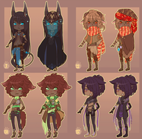 Mini Adopts :CLOSED: by MMtheMayo