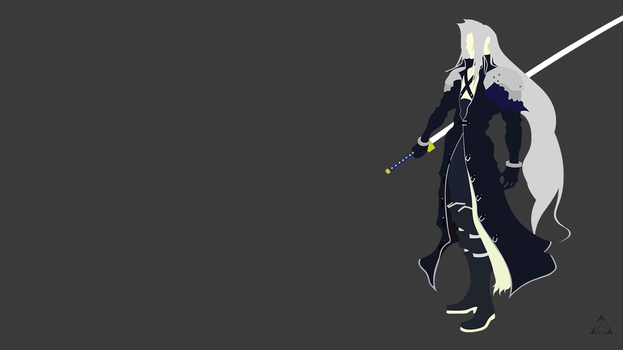 Sephiroth (Final Fantasy Dissidia) Minimalist by xVordred