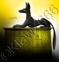 Anubis - For Ava by KlawZ666