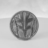 Tigerzord (White) Metal Power Ranger Coin by NickDClements