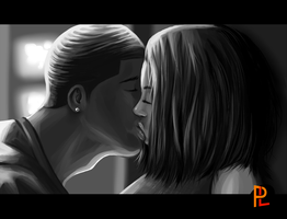 The First Kiss by PayLe