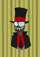 The Nefarious Black Hat by Hushercide