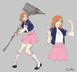 Nora Valkyrie by lesly-oh