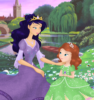 Sofia the First: Your Amulet brought me here... by DarleenEnchanted