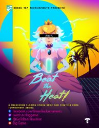 Beat the Heat Announcement Poster by KingTheophilus