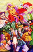 Dragon quest 4 by Evanatt