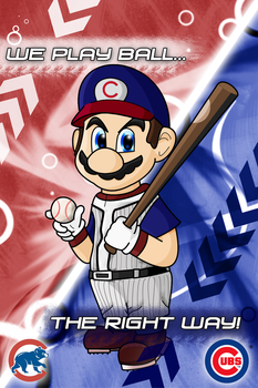 We Play Ball - Chicago Cubs by aka-Best