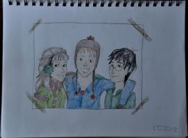 The Golden Trio (colour) by charleypotter