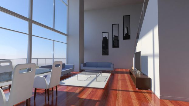 Penthouse Home by GabrielAuger