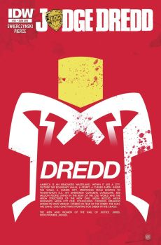 Variant cover for IDW's Judge Dredd #21 by Superconvoy75