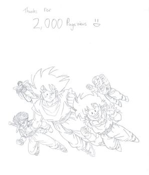 2000 Hits :D by pete-tiernan