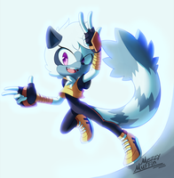 Welcome Tangle! by MezzyMuffin