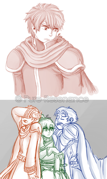 FE7 Sketches by Pure-Resonance