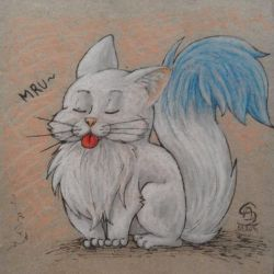 Cute kitty by MusicAndArtItsMyLife