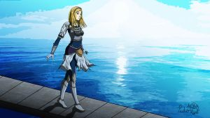 Lux - The Lady of Luminosity - League of Legends by IceNinjaX77