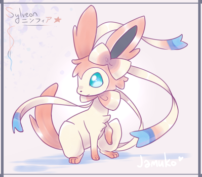 Pokemon XY - New Eeveelution Sylveon/Ninfia! by jamuko