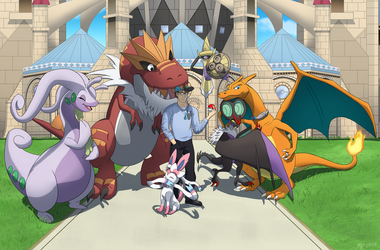 Commission: X team Ptair by MightyRaptor