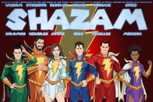 [Earth-27 Rosters] Sentinels of Shazam by Roysovitch