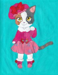 Calico Kitty by ilovepinkhair