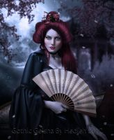 Gothic Geisha by shiny-shadows-Art