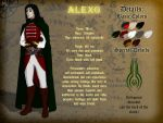 Reference Sheet - Alexo by Dungeon-Spirit