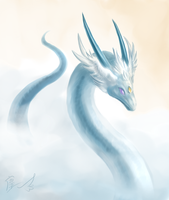 spirit of sky water by Lena-Lucia-dragon