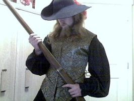 SCA gold doublet and shirt by Tulloran