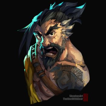 SKOWB - Hanzo from Overwatch by TheOneWithBear