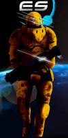 Endless Space: Sheredyn soldier by MaseHQ