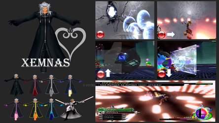 Xemnas Super Smash Bros Moveset by Hyrule64