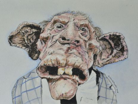 Mouse Face from Basket Case 2 by EnkaPunk