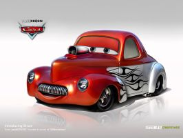 Disney Cars- BRUCE-Willys 1941 by yasiddesign