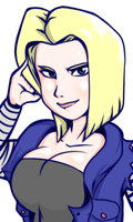 Android 18 by ereves