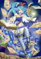 Hyrule Warriors - Lana, the White Sorceress by Color-Arcano