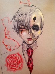 Thg mysterious boy :colored: by Giname