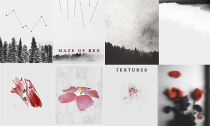 Maze Of Red by annoyss