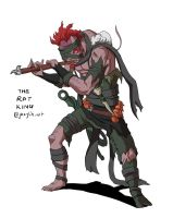 TMNT Redesigns - The Rat King by JazylH