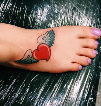 My first ever Tattoo! by Cutienerdgirl321